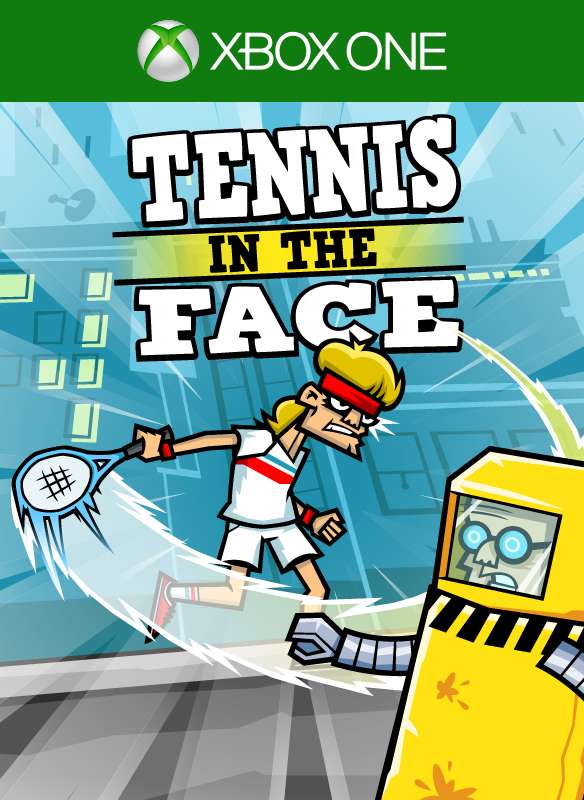 Tennis in the Face boxshot