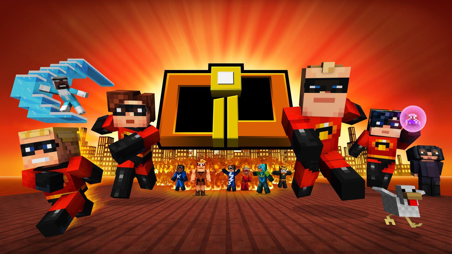 Buy Minecraft The Incredibles Skin Pack Microsoft Store - Skins para minecraft wii u