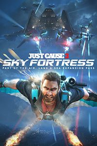 Carátula del juego Just Cause 3: Sky Fortress de Xbox One