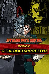 Carátula del juego MY HERO ONE'S JUSTICE Mission: O.F.A. Deku Shoot Style