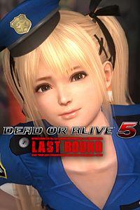Carátula del juego DEAD OR ALIVE 5 Last Round Marie Rose Police Uniform