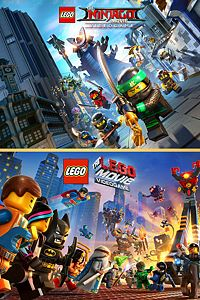 Carátula del juego LEGO Movies Game Bundle