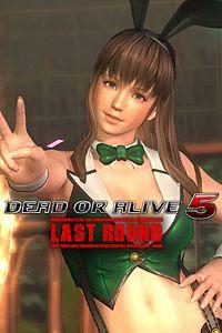 Carátula del juego DEAD OR ALIVE 5 Last Round Sexy Bunny Hitomi