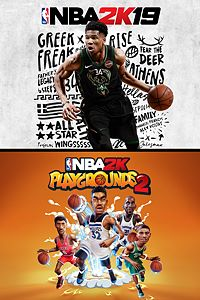 Carátula del juego NBA 2K19 + NBA 2K Playgrounds 2 Bundle