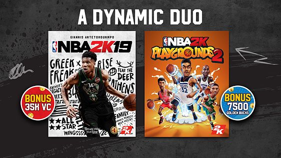 NBA 2K19 + NBA 2K Playgrounds 2 Bundle screenshot 4