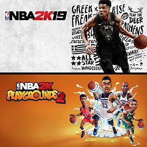 NBA 2K19 + NBA 2K Playgrounds 2-paket Xbox One