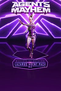 Carátula del juego Agents of Mayhem - Lazarus Agent Pack