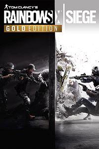 Carátula para el juego Tom Clancy's Rainbow Six Siege Gold Edition de Xbox One