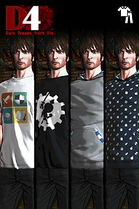 D4: Dark Dreams Don't Die - Wind-up Knight 2 Clothing Set
