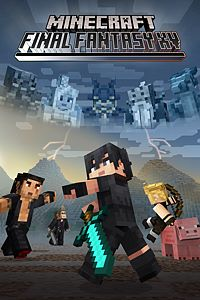 Carátula para el juego Minecraft FINAL FANTASY XV Skin Pack de Xbox One