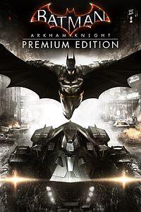 Carátula del juego Batman: Arkham Knight Premium Edition de Xbox One