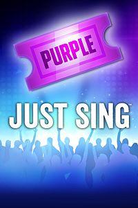 Carátula del juego Just Sing - Purple Ticket de Xbox One
