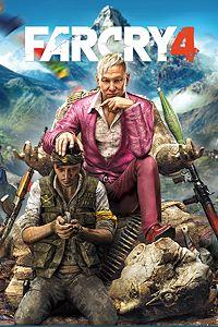 Carátula para el juego Far Cry 4 de Xbox 360