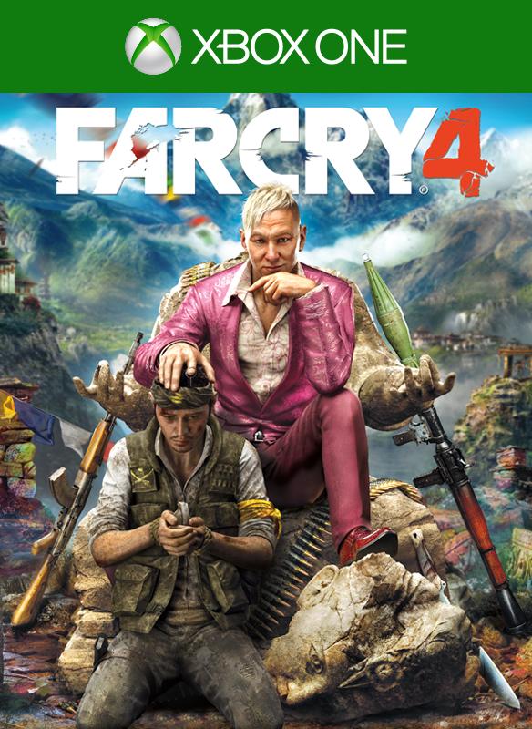 Far Cry 4 boxshot