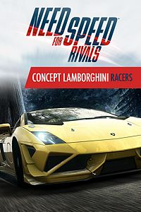 Carátula del juego Need for Speed Rivals Concept Lamborghini Racers de Xbox One