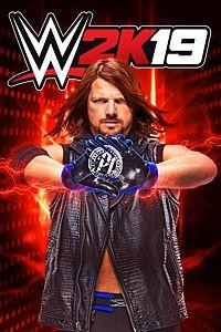 Carátula para el juego WWE 2K19 de Xbox 360