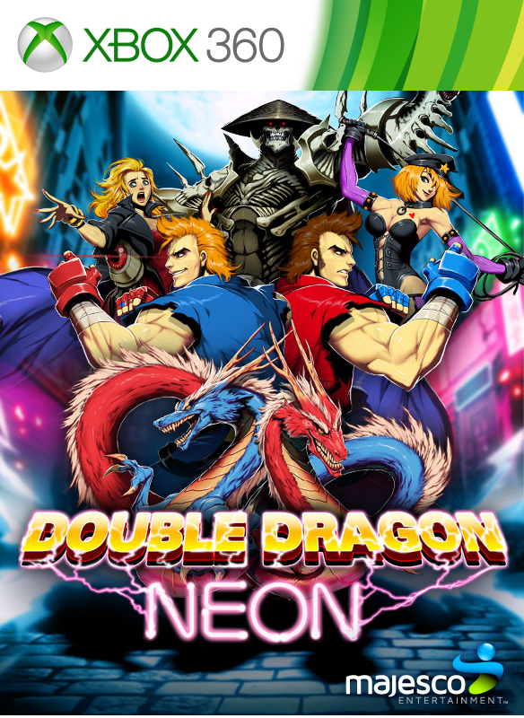 Double Dragon Neon boxshot