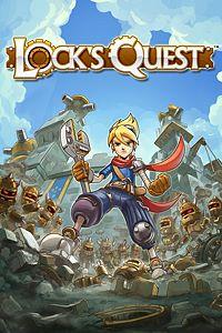 Carátula para el juego Lock's Quest de Xbox 360