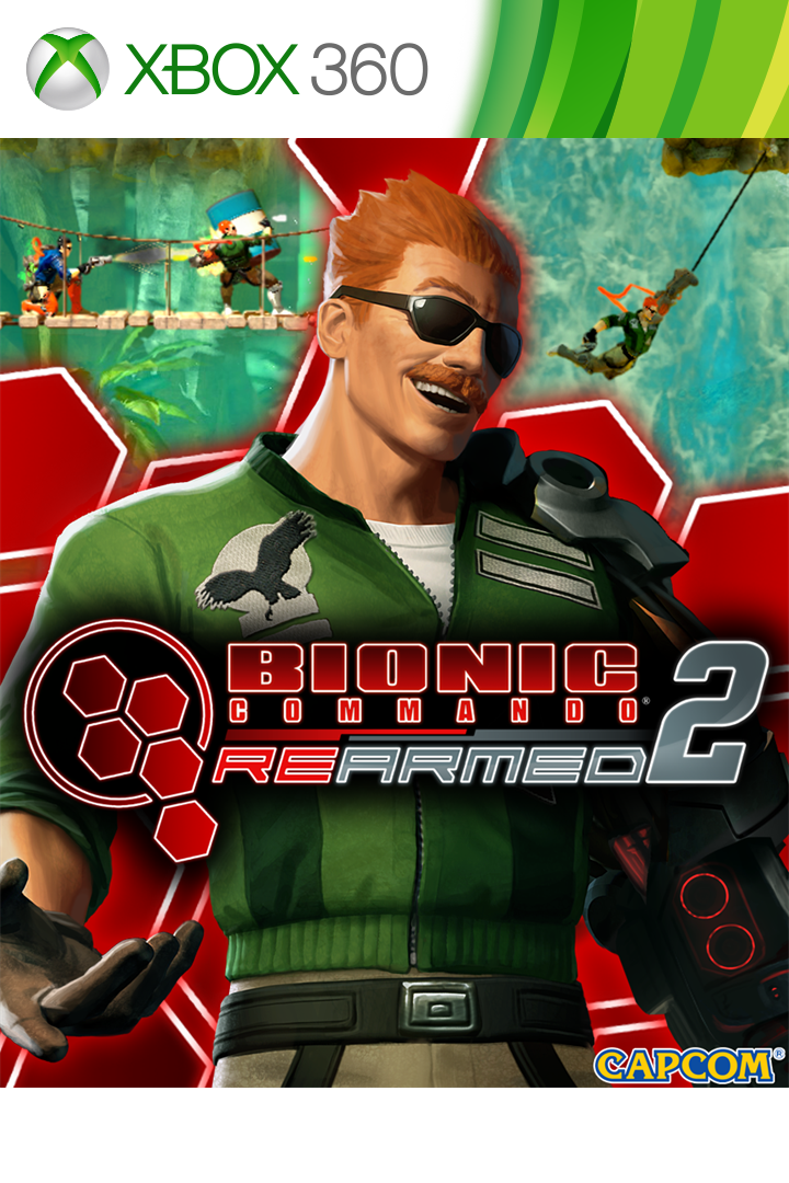Bionic Commando: Rearmed 2 boxshot