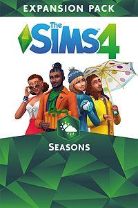 Carátula para el juego The Sims 4 Seasons de Xbox 360