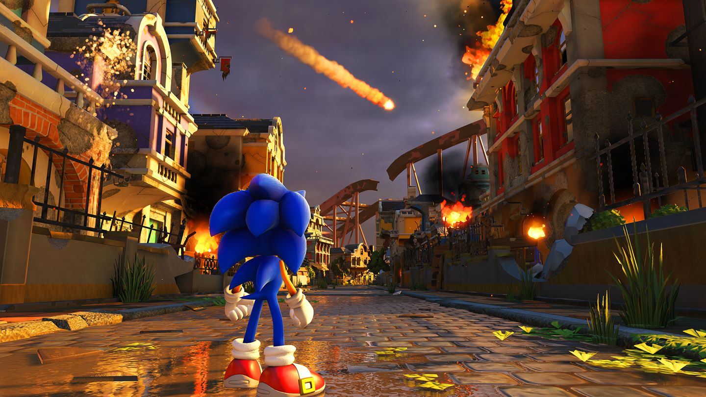 Sonic Forces Install Size Screenshot