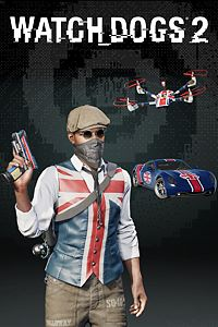 Carátula del juego Watch Dogs2 -RIDE BRITANNIA PACK