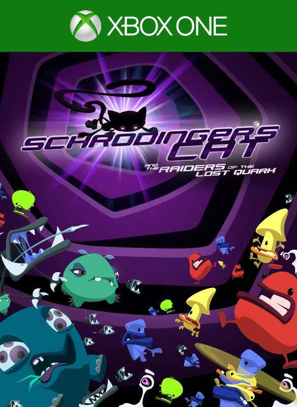 Schrödinger's Cat and the Raiders of the Lost Quark boxshot