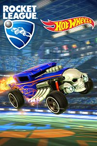 Carátula del juego Rocket League - Hot Wheels Bone Shaker de Xbox One