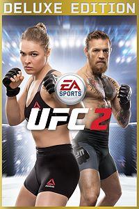 Carátula para el juego EA SPORTS UFC 2 Deluxe Edition de Xbox 360