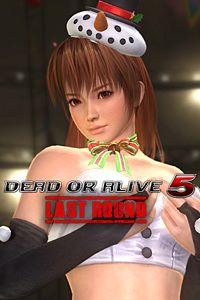 Carátula del juego DEAD OR ALIVE 5 Last Round Kasumi Christmas Costume