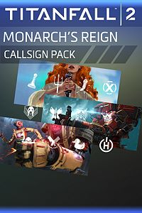 Carátula del juego Titanfall 2: Monarch's Reign Callsign Pack