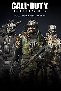 Carátula del juego Call of Duty: Ghosts - Squad Pack - Extinction