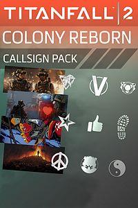 Carátula del juego Titanfall 2: Colony Reborn Callsign Pack