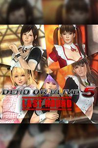Carátula del juego DEAD OR ALIVE 5 Last Round Maid Costume Set