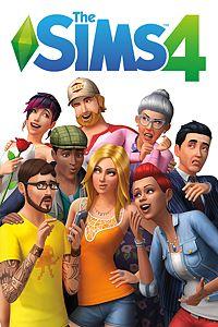 Carátula del juego The Sims 4