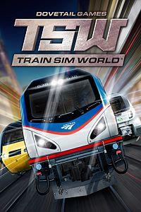 Carátula para el juego Train Sim World de Xbox 360