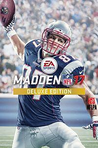 Carátula del juego Madden NFL 17 Deluxe Edition de Xbox One