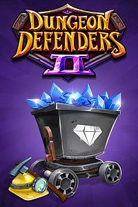 Carátula del juego Dungeon Defenders II - Etherian Gem Mine