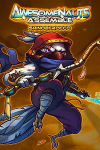 Carátula del juego Shinobi Rocco - Awesomenauts Assemble! Skin de Xbox One