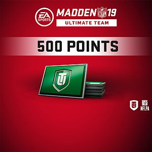 Madden NFL 19 Ultimate Team 500 Points Pack Xbox One