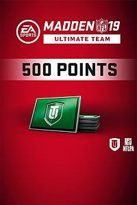 Madden NFL 19 Ultimate Team 500 Points Pack