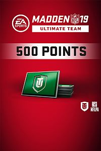 Carátula del juego Madden NFL 19 Ultimate Team 500 Points Pack