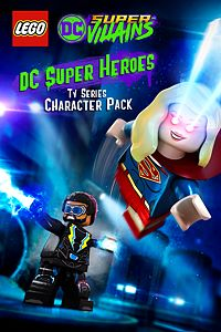 Carátula del juego LEGO DC TV Series Super Heroes Character Pack