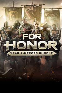 Carátula para el juego FOR HONOR YEAR 1 : HEROES BUNDLE de Xbox 360