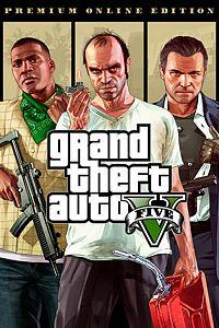 Carátula del juego Grand Theft Auto V: Premium Online Edition para Xbox One
