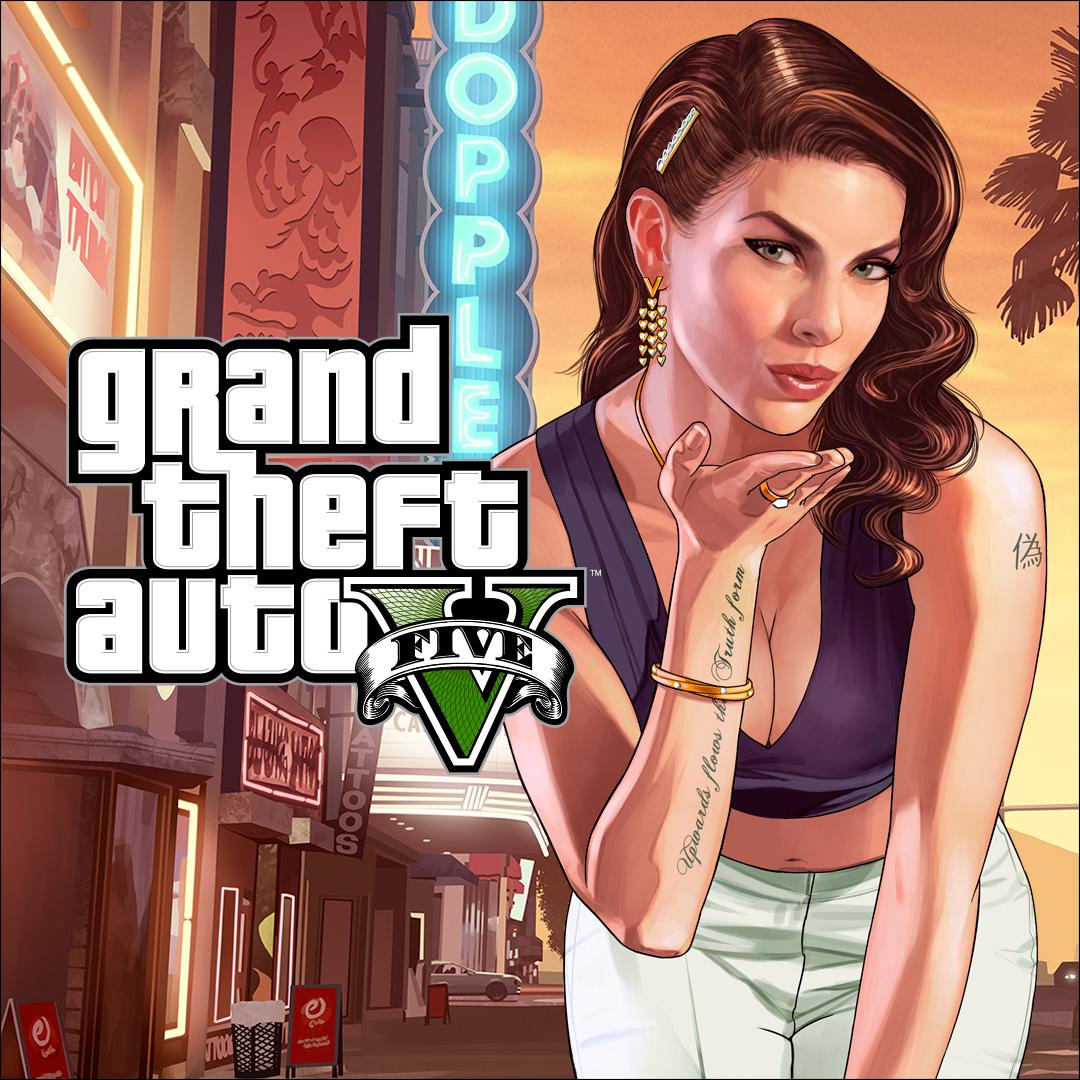Bundel met Grand Theft Auto V en Criminal Enterprise Starter Pack