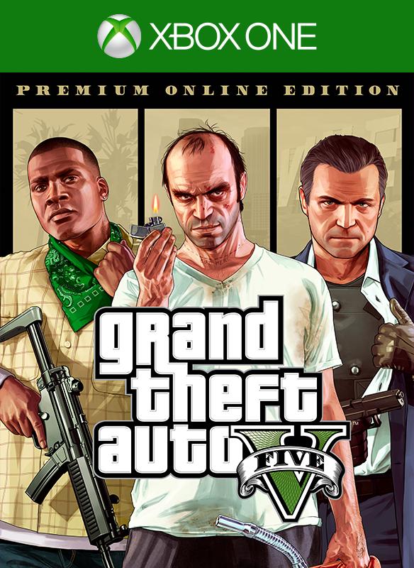 Grand Theft Auto V: Premium Online Edition boxshot