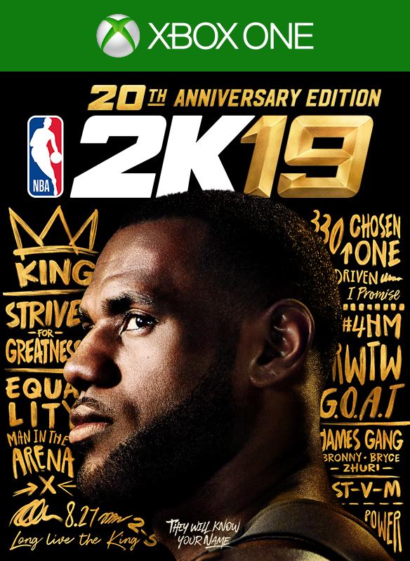 NBA 2K19 Edición 20 Aniversario boxshot