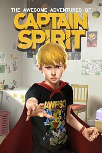 Carátula del juego The Awesome Adventures of Captain Spirit
