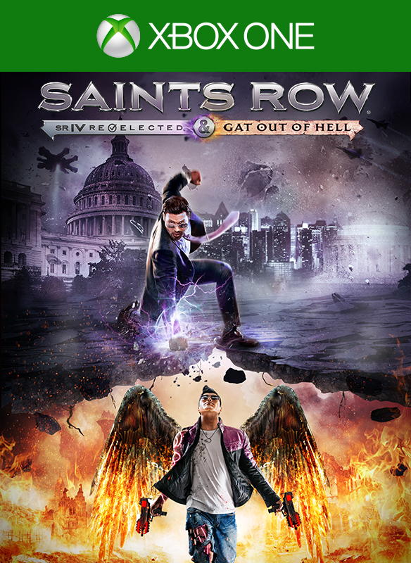 Saints Row IV -  Re-elected & Gat Out of Hell